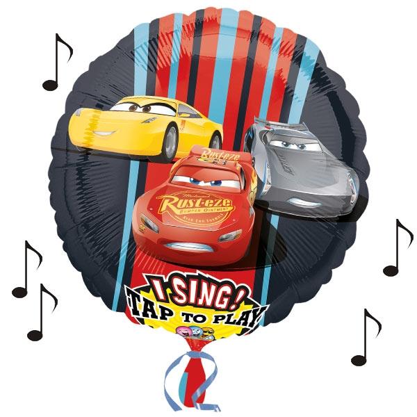 "Sprechender Folieballon ""Cars 3"" Ø 71cm"