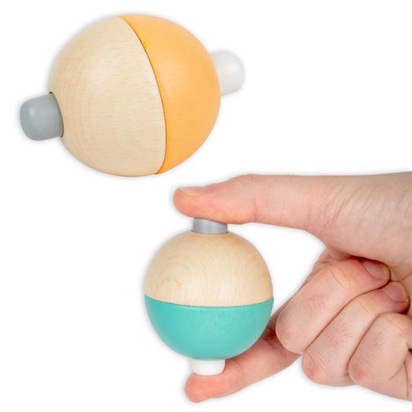 Quietschball aus Holz, 1 Stück
