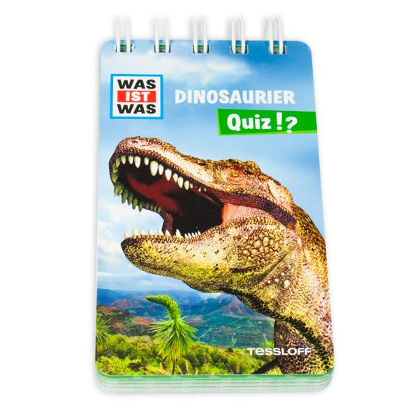 WAS IST WAS Quizblock - Dinosaurier
