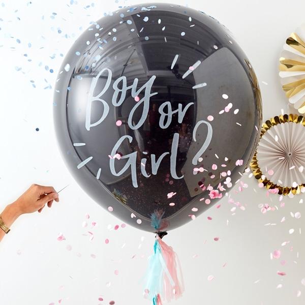 XXL Ballon Boy or Girl?, 1 Stk, 80cm