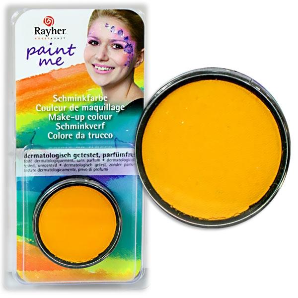 Paint Me - Schminkdose Gelb, sehr gut haftend und deckend, schwitzecht, ergiebig