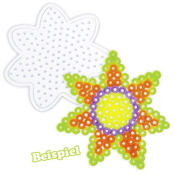 """Bügel-Perlen Starter Set """"Flower"""" für Blumen-Untersetzer / Fensterdeko"""