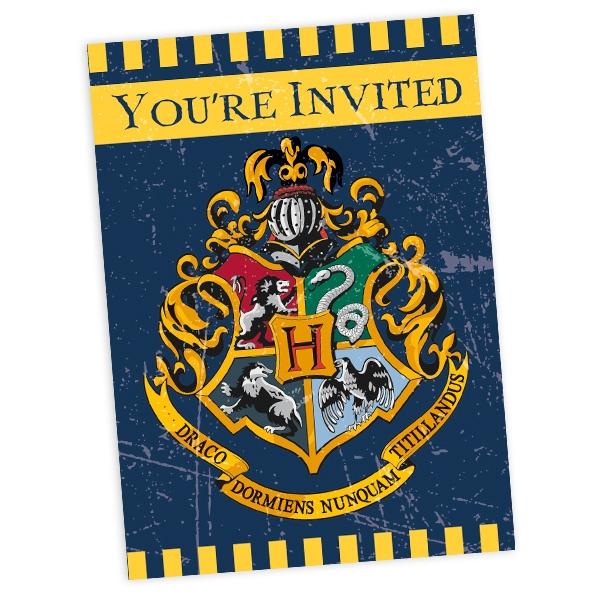 "Einladungskarten ""Harry Potter"" 8 Stück"