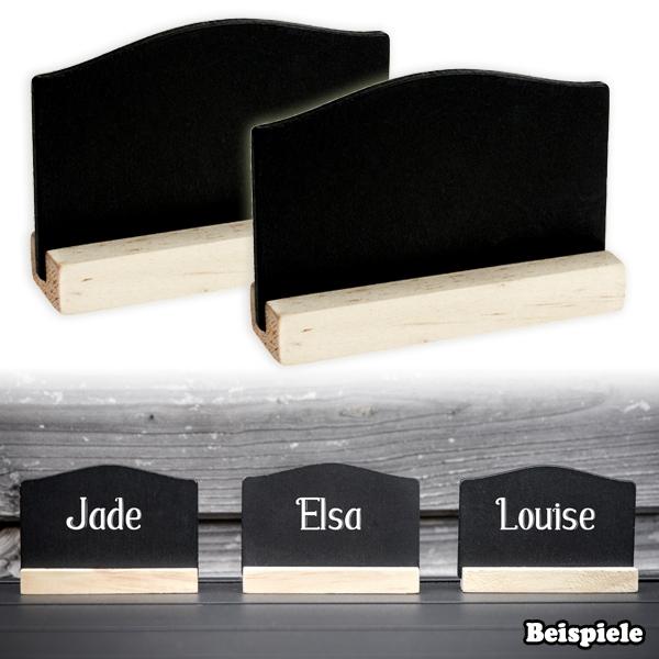 Tischkarten 4er Pck, aus Holz