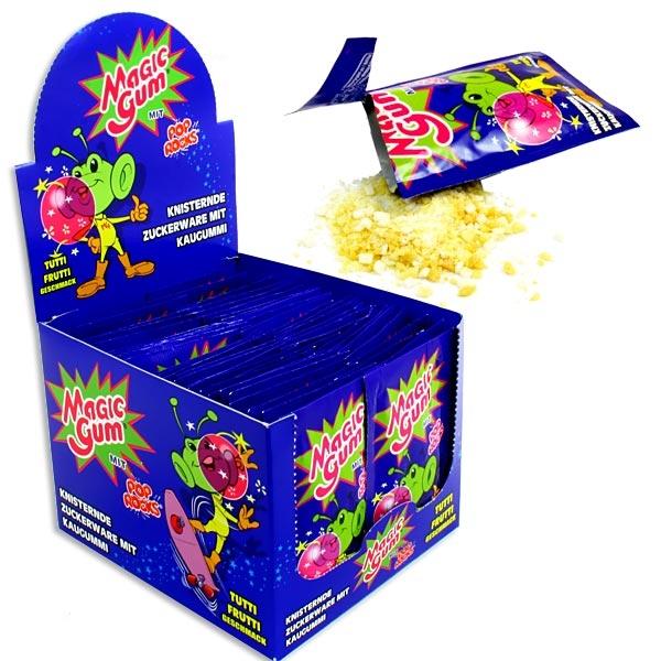 Großpack Magic Gum Tutti Frutti 50er, knisternd prickelnd