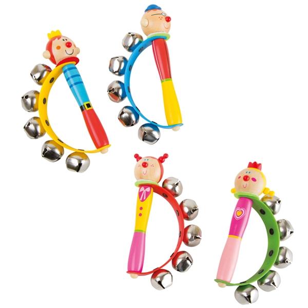 Schellenkranz, Musikspielzeug für Kindergarten und Schule, 1 Stk
