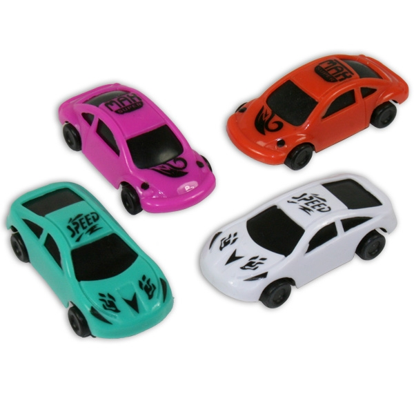 Rennwagen, verschiedene Farben, 1 Stk.