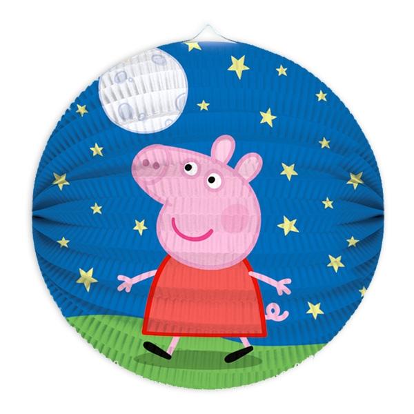 Peppa Pig Laterne, rund, 25cm