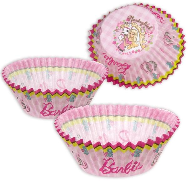 Barbie Backförmchen, 50 Stk