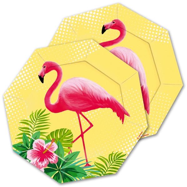 """Kuchenteller """"Flamingo"""", 8 Stk. 18cm"""