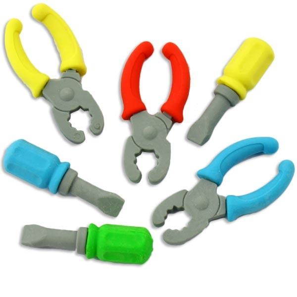 Werkzeug-Radiergummis im 2er Pack