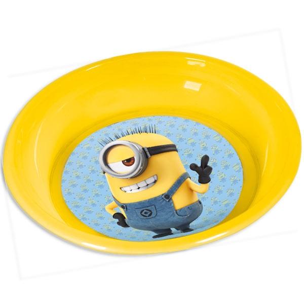 Minions Plastikteller 20,5cm 1 Stück, tolles Geschenk für Minions-Fan