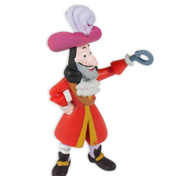 Tortenfigur Captain Hook, 4x10 cm, auch zum Spielen, aus Kunststoff
