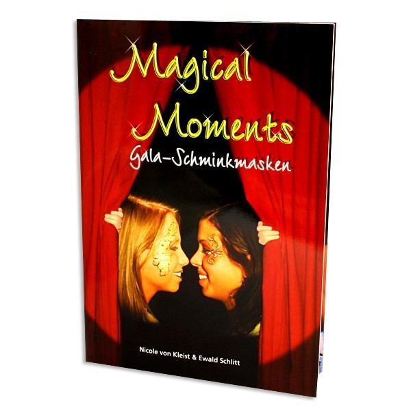 Magical Moments, Gala Schminkmasken, 60 Seiten, mit u.a. Schnörkeln, Tribals und Masken wie z.B. Spiderella
