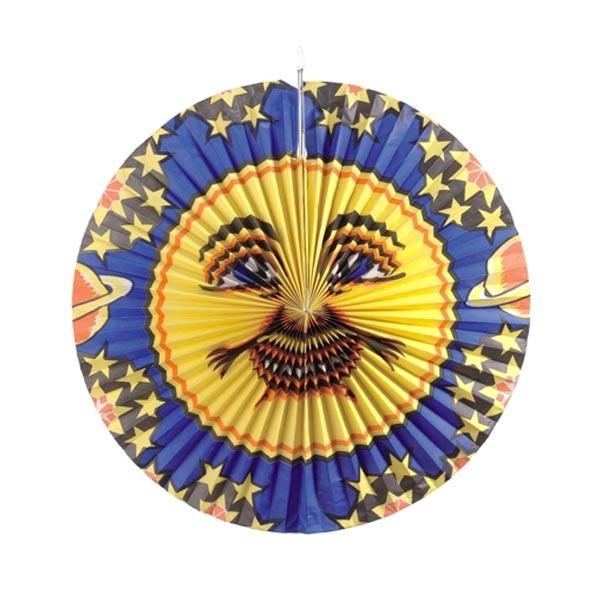 Mond-Lampion, Kindergeburtstag, Mondlaterne, Umzug, 1 St., d=42cm