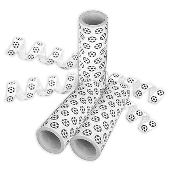 Fussball Luftschlangen, 1 Rolle