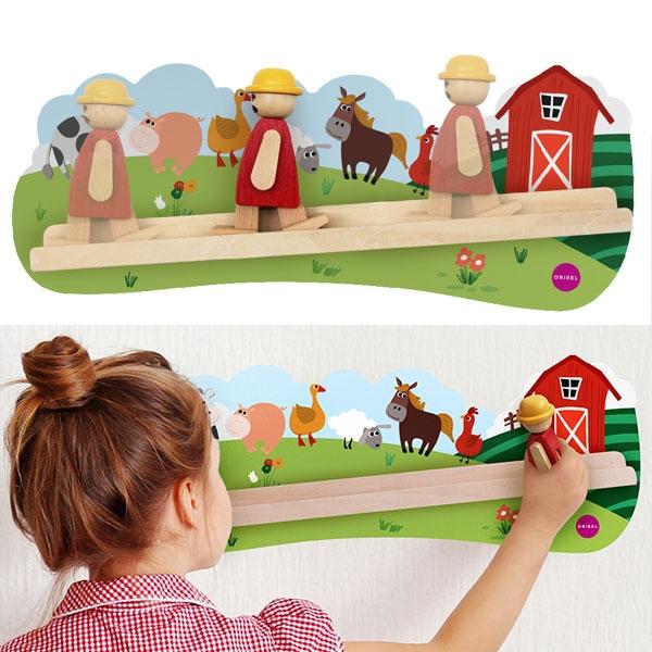 Holzspielzeug MacDonald, 1 Stk,  43,7cm x 17,2cm