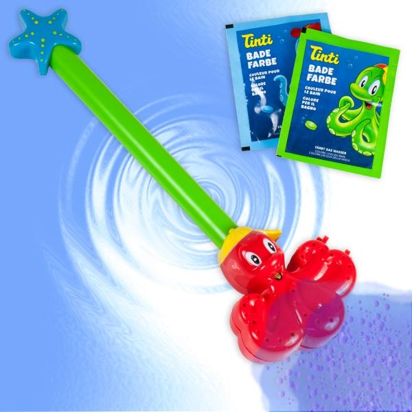 Tinti Zauberstab für Jungen, inkl. 2 Badewasserfarben