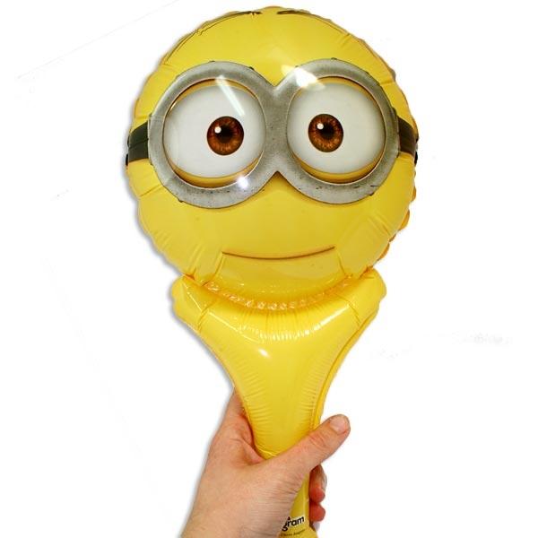 Minions Folienballon gelb 35x17cm, selbst verschließend, zum Winken