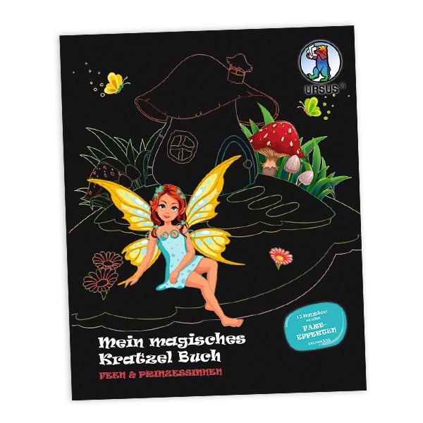 """Mein magisches Kratzel Buch """"Feen & Prinzessinnen"""""""