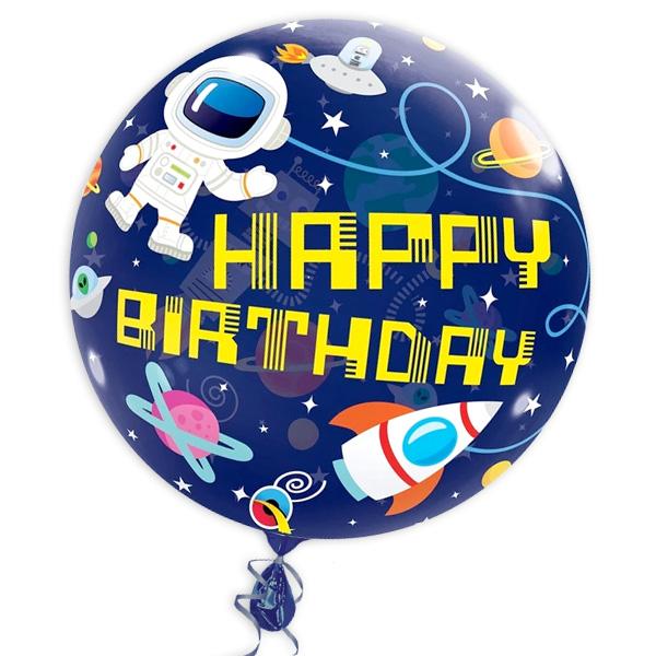 "Bubble Ballon ""Astronaut"", 56cm, heliumgeeignet"