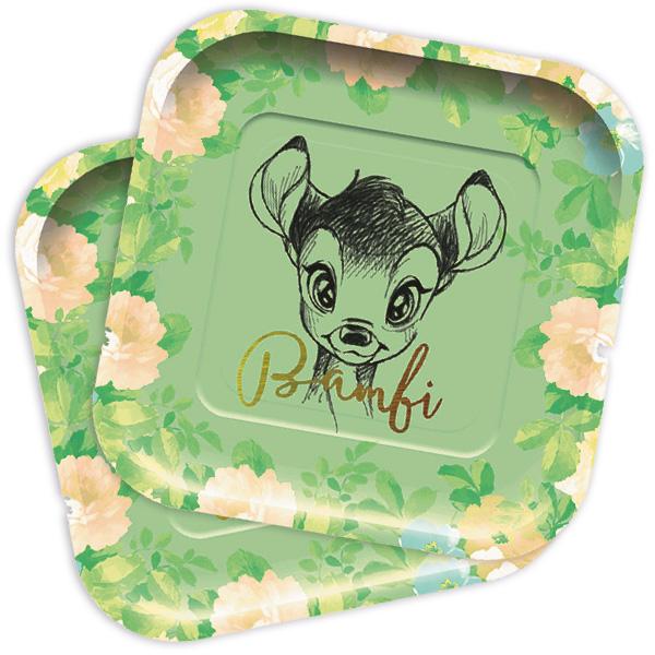 """""""Bambi"""", Servierteller, 8 Stück, Pappe"""