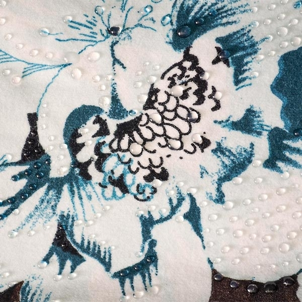 Perlen-Pen 25ml – Dunkelblau – für tolle Halbperlen auf Textilien, Kunststoff, Leder...