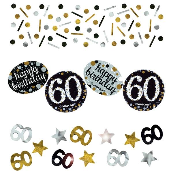 Sparkling Celebr. 60ster runder Geburtstag, 34g, glänzend