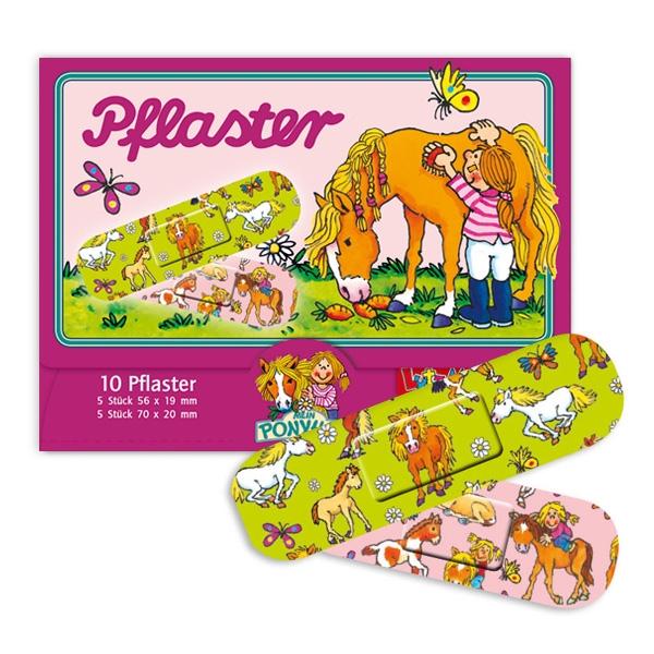 Pflaster - Mein Ponyhof, hübsches Kinderpflaster für erste Hilfe, 10 Stk.