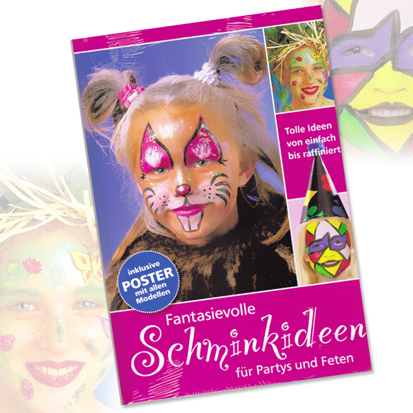 Schminkbuch Fantasievolle Schminkideen, Hardcover