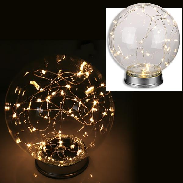 Glas-Leuchte mit 30 LEDS
