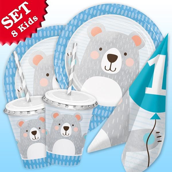 """""""Kleiner Bär"""" Basic Set, 65-teilig für bis zu 8 Kids"""