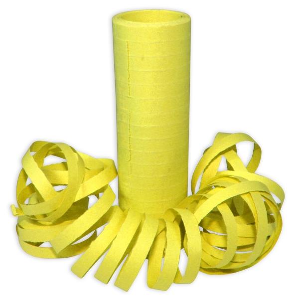 Gelbe Luftschlangen, 1 Rolle