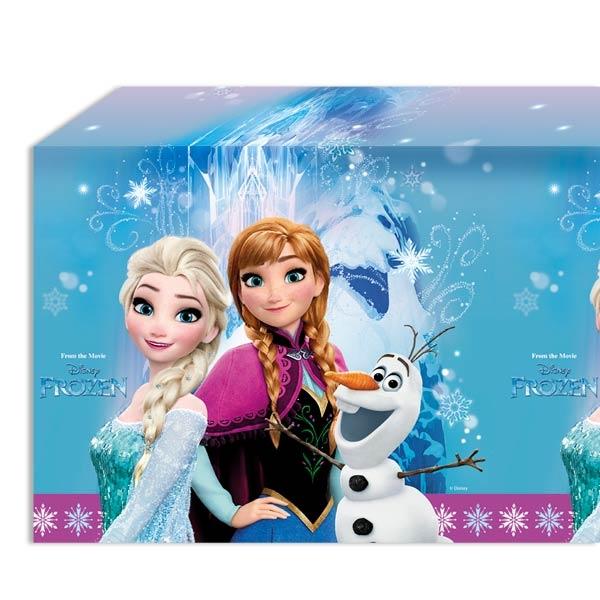 Eiskönigin Tischdecke 1,2 × 1,8 m, Anna und Elsa als Partytischdecke