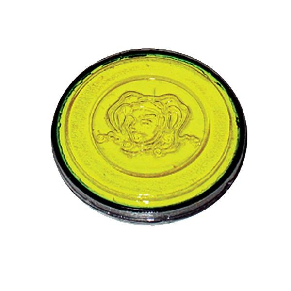 Kinder-Schminke Neon-gelb in Profi Aqua Qualität 3,5ml Dose, getestet