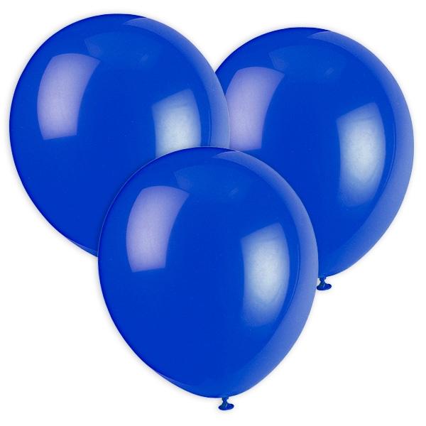 Dunkelblaue Luftballons, 30cm, 10 Stück