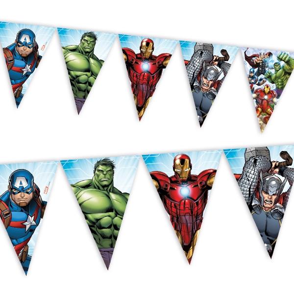 Avengers - Wimpelkette, 1 Stk, 2,3m