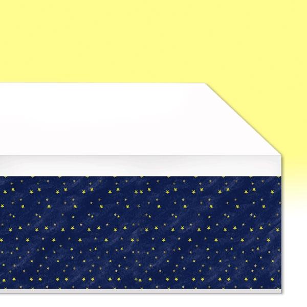 Twinkle - Little Star Tischdecke, Papier, 137cmx259cm, Babyparty Deko