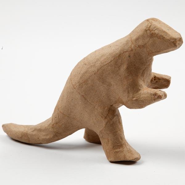 Dinofigur Pappmache 12,5x17cm, 1Stk