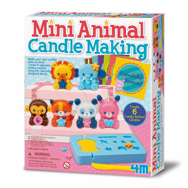 """Kerzenherstellungs-Set """"Mini Tiere"""""""