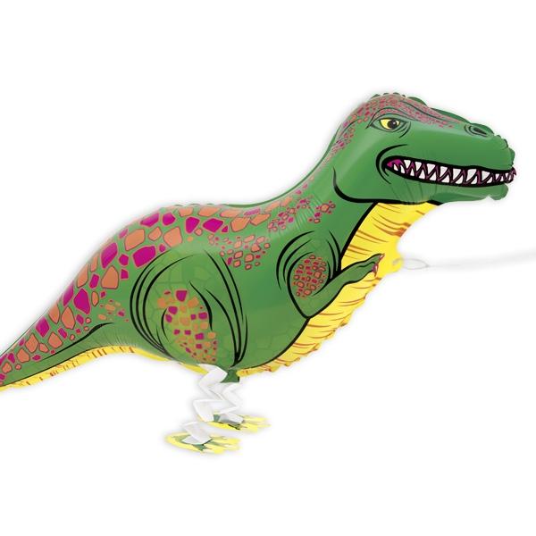 """""""Laufender T-Rex"""" Folienballon, 1 Stück"""