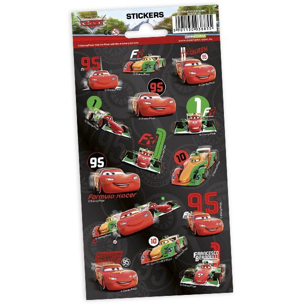 """Stickerbogen """"Cars"""" mit 14 Stickern"""