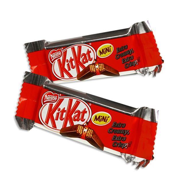 Kitkat Mini, leckerer Snack,- nicht nur für Pausen, Süßigkeiten Kindergeburtstag
