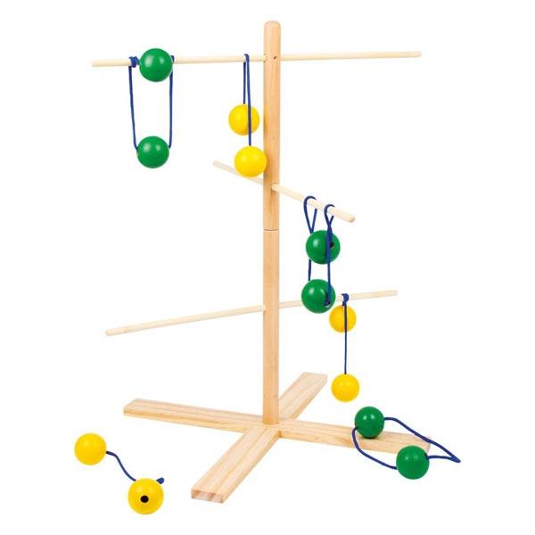 Wurfgaucho-Leiterwurfspiel zum Geschicklichkeit-Trainieren, 1 Set