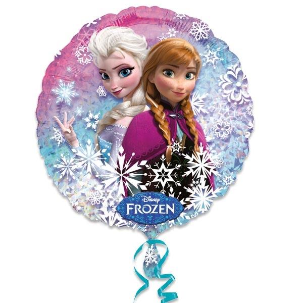 Heliumballon Frozen/Eiskönigin, wunderschönes Motiv, für Helium,35 cm