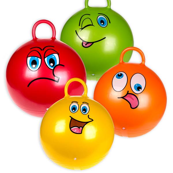 Hüpfball in 4 verschiedenen Farben, Ø 45cm