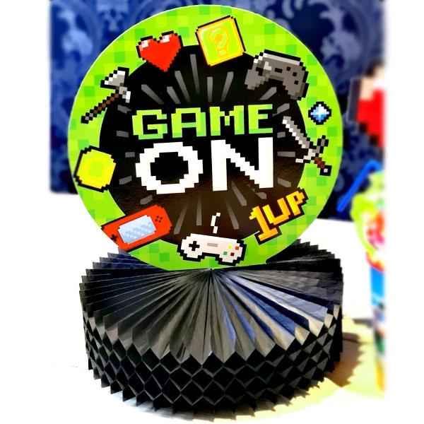 """""""Game On"""", Waben-Tischdeko, 23cm x 30cm"""
