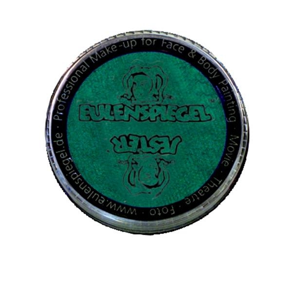 Kinderschminke perlglanz-grün, Profi Aqua, hohe Deckkraft, 3,5ml Dose