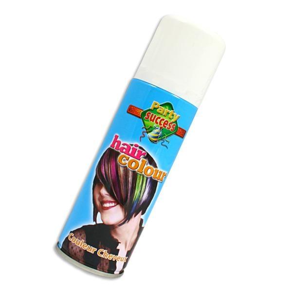 Color-Haarspray in Weiß, hohe Deckkraft, leicht auswaschbar,125ml