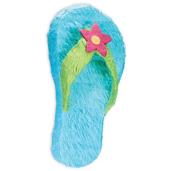 Flip Flop Pinata zum Schlagen für Beachparty oder Poolparty, 55 cm
